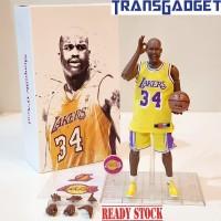 NBA Figure 1/9 - Shaquille O'Neal 34 LA LAKERS Basket Ball KO Enterbay
