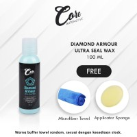 Core Diamond Armour Wax | Pengkilap Bodi Mobil Motor Metallic Premium