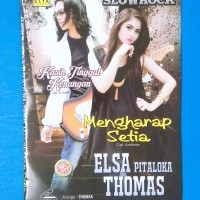 Kaset VCD Original Lagu Malaysia Elsa Pitaloka Thomas