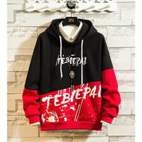 RisRus Sweter TEBIE PAI battle hoodie sweater cewe cowok basic sweater
