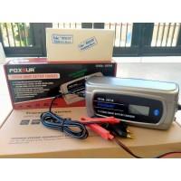Foxsur Smart charger battery aki accu 12v 8a 24v 4a