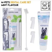 M-PETS DENTAL CARE SET FOR DOG / SIKAT PASTA GIGI ANJING / ODOL