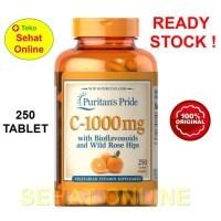 Puritan Pride Vitamin C 1000 with Rosehip & Bioflavonoids 250 Caplets