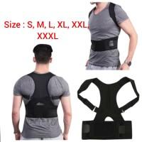 penyangga punggung shoulder back support belt posture corrector korset