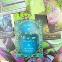 Sufi Wisdom Oracle card by Rassouli