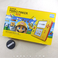 NEW NOS 2DS CONSOLE SUPER MARIO MAKER YELLOW NINTENDO LIMITED 3DS