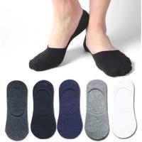 Kaos Kaki Pendek Polos Pria Mata Kaki Invisible Sock Hidden Socks