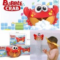 Mainan Mandi Anak Kepiting Busa Gelembung Bubble Crab Maker Bath Time