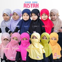 Kerudung Masker Anak | Jilbab Anak Aisyah MiuLan