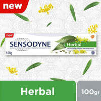 Sensodyne Herbal Pasta Gigi Sensitif Ekstrak Herbal Alami 100gr