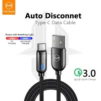 MCDODO CA-6190 Auto Power Off Kabel Type C Fast Charging Disconnect