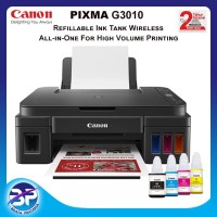 Canon G3010 All In One WiFi Ink Tank Printer