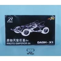 Tamiya Mini 4WD Dash x1 Proto Emperor Dx Jin Kidouin merk Rz Ruize