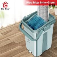 GM Bear Alat Pel Praktis Hijau Medium 1139-Ultra Mop Briny Green