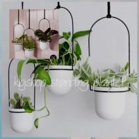 3 pcs standing planter /standing pot gantung/tanaman/kbjshop 101
