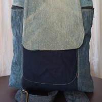 tas backpack blue jeans