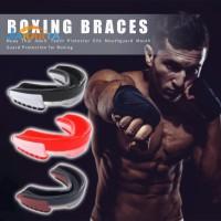 Mouth Guard Pelindung Mulut Bahan EVA untuk Boxing Basket Muay Thai