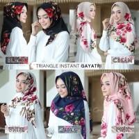 NEW jilbab kerudung hijab segitiga triangle instant gayatri motif