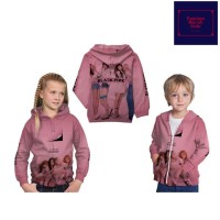 Jaket Anak Perempuan Lucu Blackpink Sweater Anak Fullprint Custom