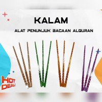 Alat Penunjuk Ngaji Kalam Tulisan Arab Alquran (dapat 10pcs) Muslim Mu