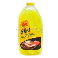 Formula 1 Carnauba Wash & Wax 64 Oz Membersihkan dan memoles mobil