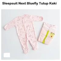 Sleepsuit Panjang 3 In 1 Tutup Kaki / Piyama Bayi Motif Random
