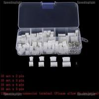 1 Kotak JST-XH Kit Konektor Terminal PCB Header xh2.54mm 2 3 4 5 Pin