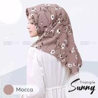BISA COD jilbab hijab segitiga triangle instan sunny motif TRENDY