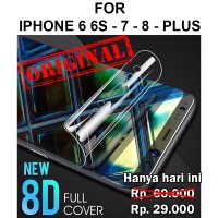 iPhone 6 6s - 7 - 8 - Plus full layar gel not tempered glass HYDROGEL