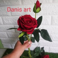 Bunga mawar/ mawar palsu/ bunga Rose / Rose palsu/ mawar cantik