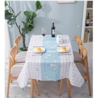 Taplak Meja Makan Anti Minyak Waterproof 137x137cm