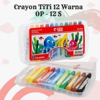 Oil Pastel Krayon Crayon TiTi 12 Warna Harga Grosir ATK Terdekat 2020