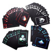 Kartu Poker Kartu Remi Plastik Waterproof Poker Card - Hitam