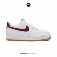 Nike Air Force 1 '07 White Team Red
