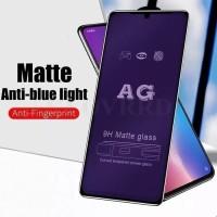 XIAOMI REDMI 9 9A 9C TEMPERED GLASS ANTI BLUE LIGHT MATTE FULL COVER