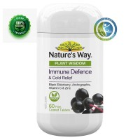 nature's way immune defence cold relief 60