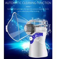 portable ultrasonic nebulizer alat terapi kesehatan asma sesak napas