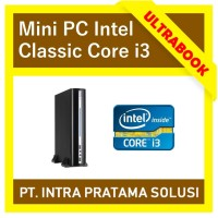 MINI PC INTEL CLASSIC (CORE i3 / RAM 8GB) - FOR OFFICE NEEDS
