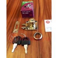 Kunci Lemari Sliding / Geser / Kunci Mekar Huben HL 202
