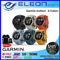 SMART WATCH GARMIN INSTINCT GPS SPORT 3 WARNA GARANSI RESMI TERMURAH - graphite