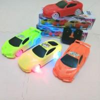 Rc Mobil Racer acar Ada Lampu Bagian Roda /mainan anak remot control