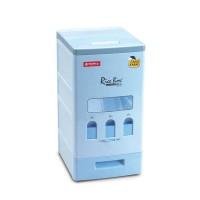 Lion Star Vella Rice Box 18 Kg RB-6 / Tempat Beras / Dispenser Beras