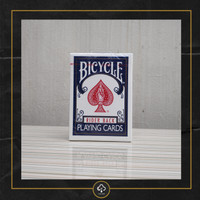 Kartu Remi Bicycle Riderback Red / Blue - Biru