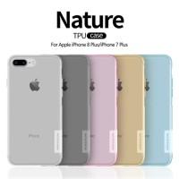 IPhone 7 Plus 8 Plus NILLKIN Nature Soft Case Softcase - Grey