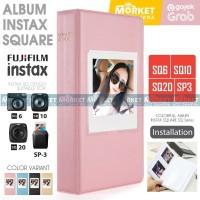 Album SQ Colorful 64 Foto for Fujifilm Instax SQUARE SP3 SQ6 SQ10 SQ20