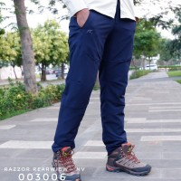 Celana Panjang Gunung Outdoor Hiking Pria Razzor Rearview Original