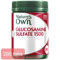 Nature's Natures nature Own Glucosamine Sulfate 1500 isi 200 Tabs