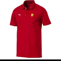 tshirt Baju kaos Kerah Puma Ferrari Bordir Logo Big Size 3XL & 4XL