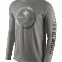 Tshirt Baju Kaos Lengan panjang Nike Steelers Country - High Quality