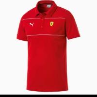 tshirt kaos Kerah Puma Ferrari - High Quality